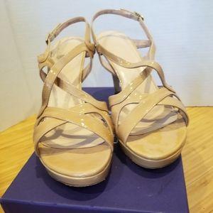 Stuart Weitzman Axis Platform Sandals